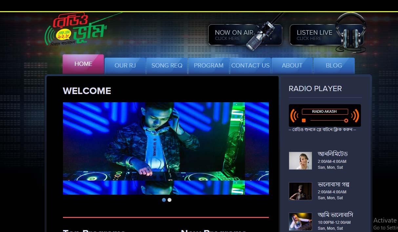 Radio Website 29/2