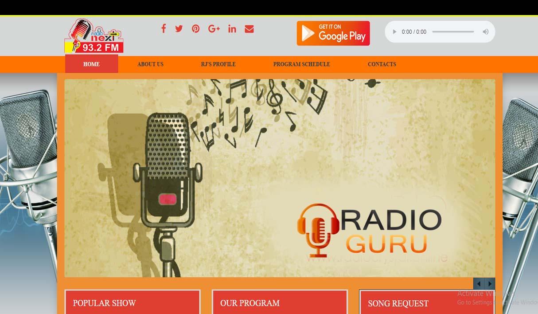 Radio Website 32/5
