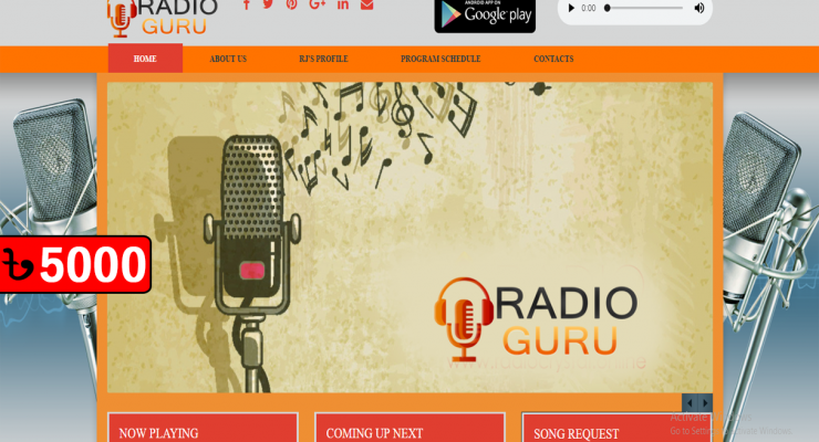 Radio Website 32/5
