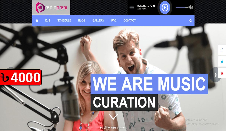 Radio Website 34/7