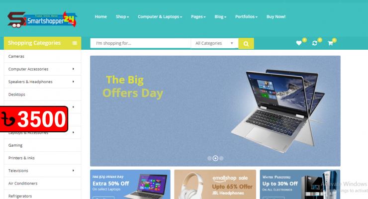 E-Commerce Website 07/07