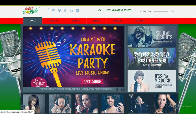 Radio Website 07-76