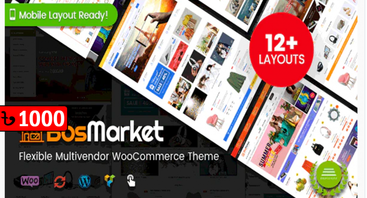 BosMarket – Vendor WooCommerce