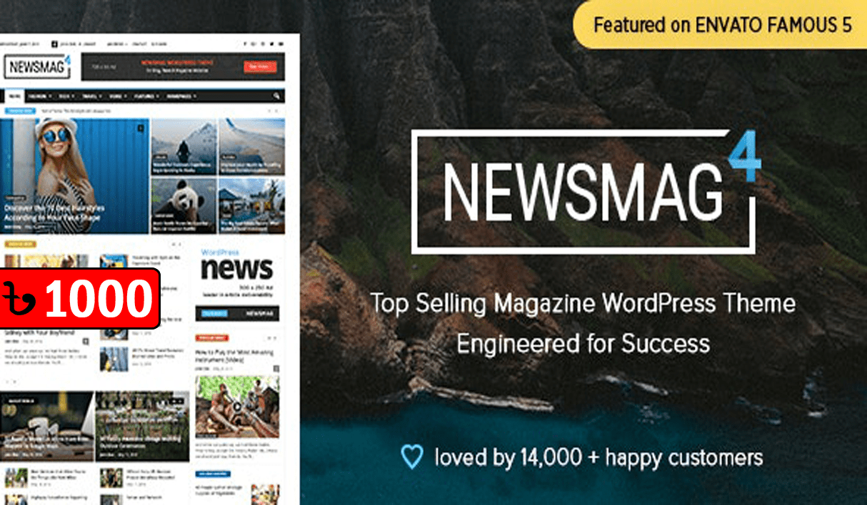 Newspaper & Magazine Theme