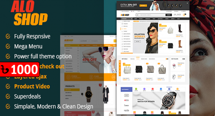 Alo Shop – WooCommerce WordPress Theme  v2.2