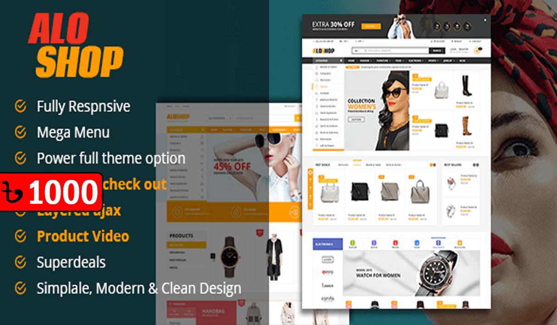 Alo Shop – WooCommerce WordPress Theme v2.2