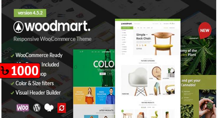 WoodMart – WooCommerce WordPress Theme