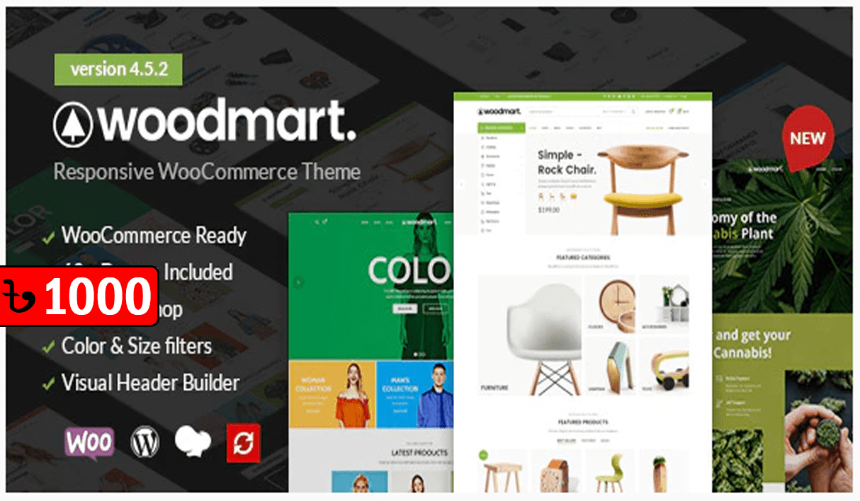 WoodMart – WooCommerce WordPress Theme