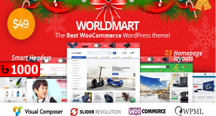 Worldmart Electronics & Multipurpose WordPress Theme