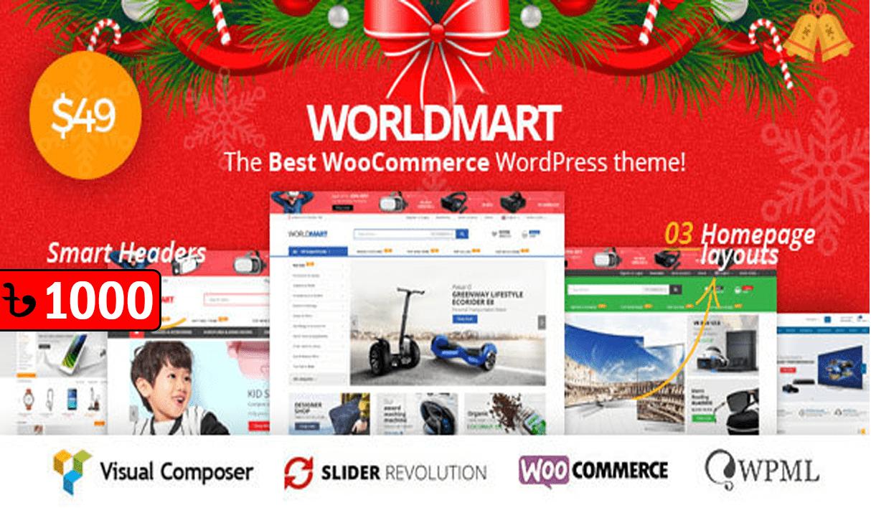Worldmart Electronics & Multipurpose WordPress Theme