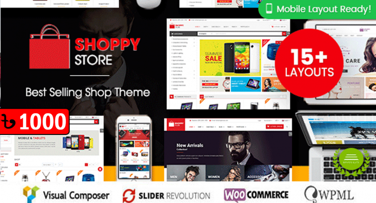 ShoppyStore Multipurpose WooCommerce WordPress Theme