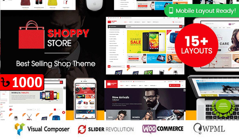 ShoppyStore Multipurpose WooCommerce WordPress Theme