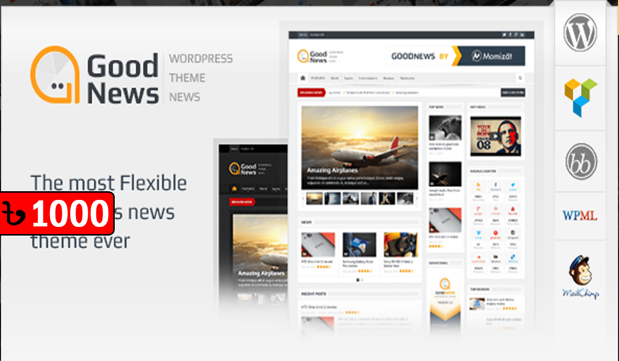 Goodnews – WordPress News/Magazine