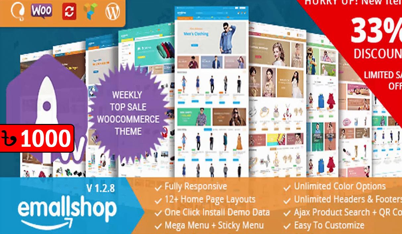 EmallShop Responsive WooCommerce WordPress Theme
