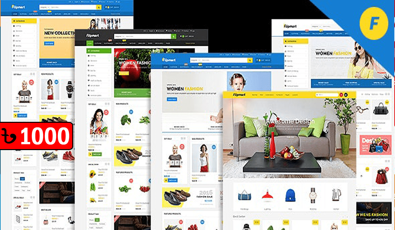 Flipmart – Responsive Ecommerce WordPress