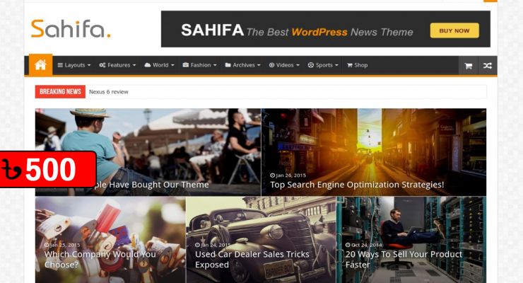 Sahifa-WordPress Theme v5.6.9