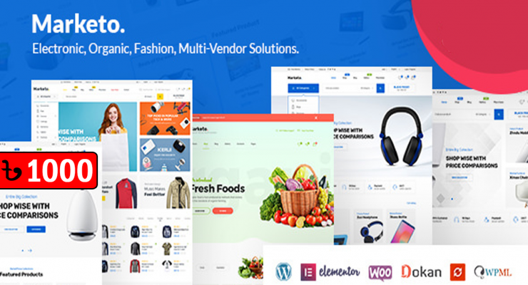 Marketo eCommerce Woocommerce WordPress Theme