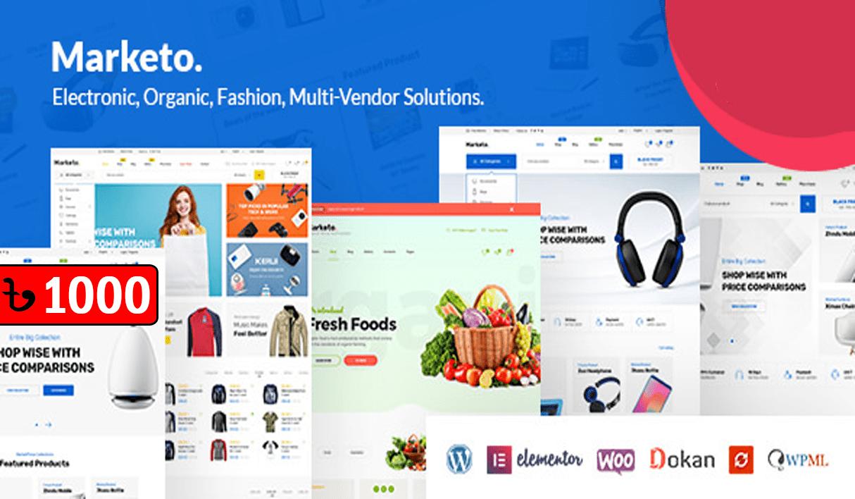 Marketo eCommerce Woocommerce WordPress Theme